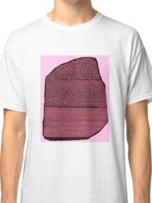 Rosetta Stone - Red/Rose/Blue Classic T-Shirt