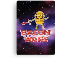 Bacon wars - Jake Canvas Print