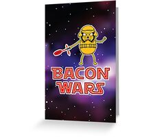 Bacon wars - Jake Greeting Card