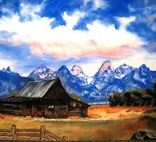 """Lone Cabin"" by Ruth Kauffman"