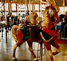 Carousel Horse by CanvasMan