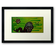 Bad tv Framed Print