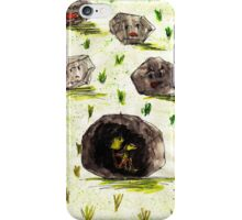 I stuck in the stone!!! iPhone Case/Skin