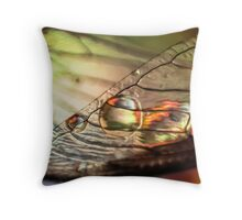 Chased by Nightmares Throw Pillow