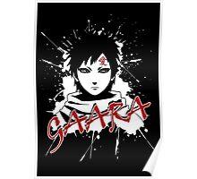 gaara grunge sign Poster