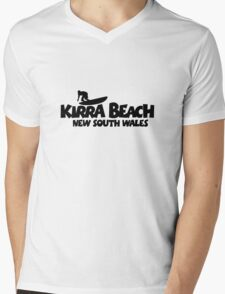 Kirra Beach New South Wales Surfing Mens V-Neck T-Shirt