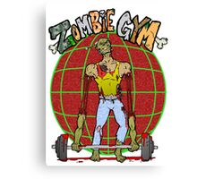 Zombie Gym Canvas Print