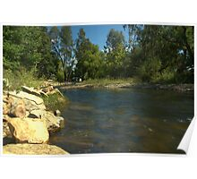 Peaceful River Poster
