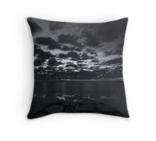 Corio Bay at  Dawn Throw Pillow