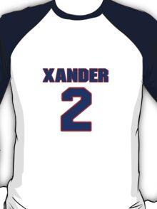 National baseball player Xander Bogaerts jersey 2 T-Shirt