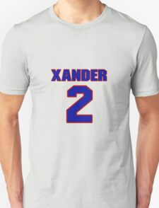 National baseball player Xander Bogaerts jersey 2 T-Shirt