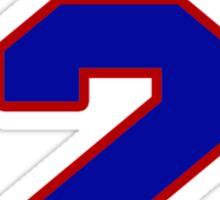 National baseball player Xander Bogaerts jersey 2 Sticker