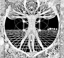 Jon Vitruvian Man by crystalface