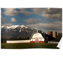 Cherry Hill Farm - Orem, Utah Poster
