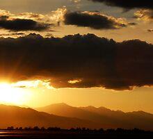 Sunset Near Provo Airport by Ryan Houston