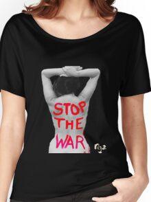 Dgz Stop the War Women's Relaxed Fit T-Shirt