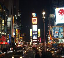 Classic Time Square by Tonia Smreczak