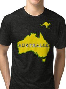 AUSTRALIA-2015 Tri-blend T-Shirt