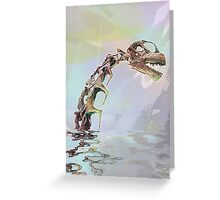 Monster of Loch Ness Greeting Card