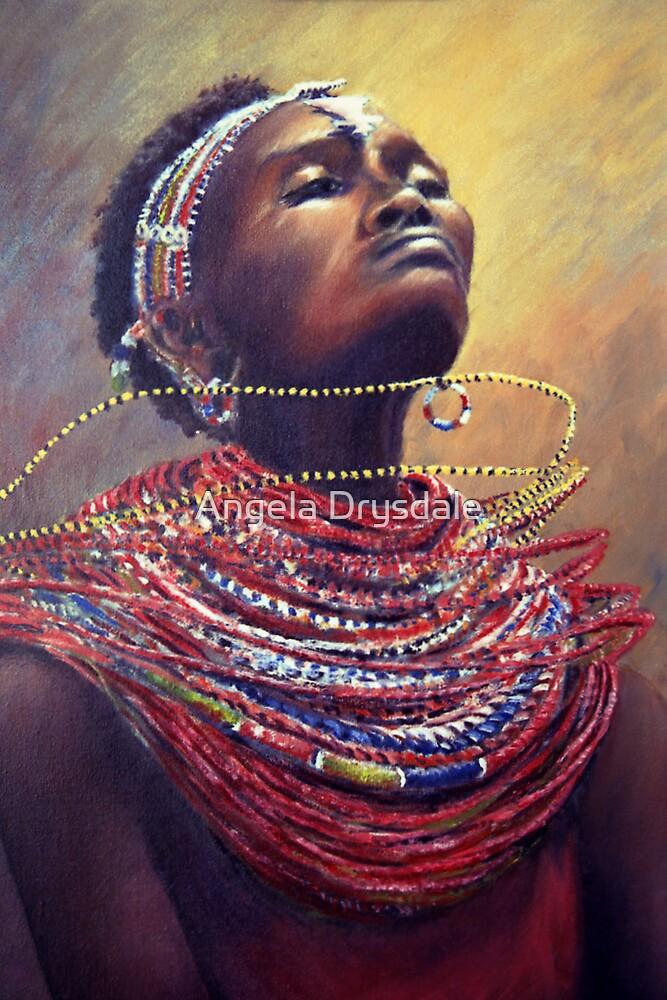Samburu Dance by Angela Drysdale
