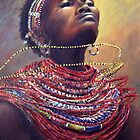 Samburu Dance by Angela Drysdale