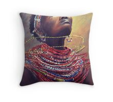 Samburu Dance Throw Pillow