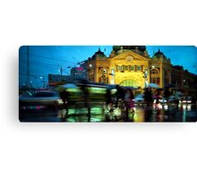 Rush hour 2 Canvas Print