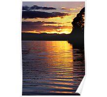 Sandy Point Sunrise Poster