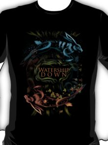 Watership Down alternative book cover T-Shirt