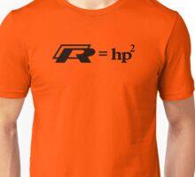 VW Golf R (R=hp2) Unisex T-Shirt