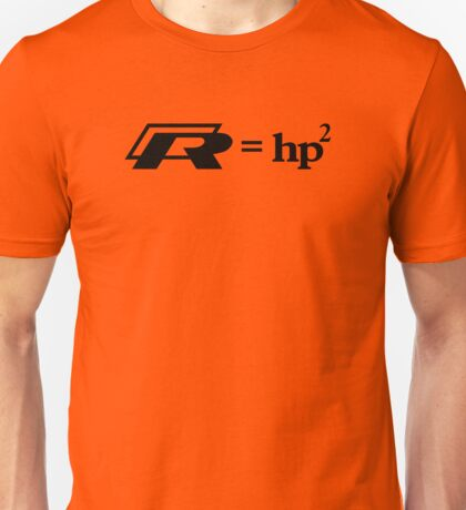 VW Golf R (R=hp2) Unisex T-Shirt