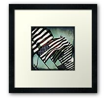 Stars 'n' Stripes Framed Print