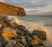 Splash! Glamorgan Coast, South Wales by dotcomjohnny