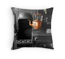 Bright Copper Kettle Throw Pillow