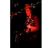 Rick Hunt - Banjo Player Photographic Print