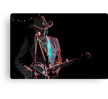 Rick Hunt - Banjo Man Canvas Print