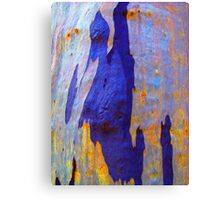 Azure Abstract Canvas Print