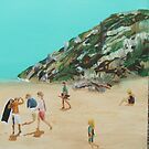 Day at the beach 3 by Susan Brown