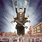 Wil Anderson - Wiluminati Poster by James Fosdike