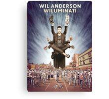 Wil Anderson - Wiluminati Poster Canvas Print