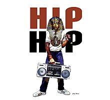 Hip Hop Pharaoh Photographic Print