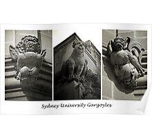 Sydney University Gargoyles. Poster