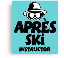 Après-Ski Instructor 01 Canvas Print