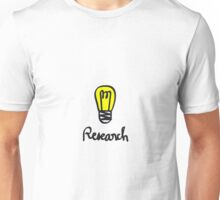 Research more visible  Unisex T-Shirt