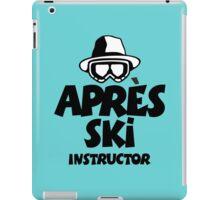 Après-Ski Instructor 01 iPad Case/Skin