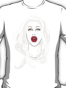 Sharon Needles Illustration - Beautiful, Spooky, and Stupid T-Shirt