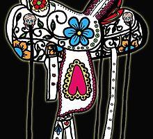 Sugarskull Saddle by Sasse