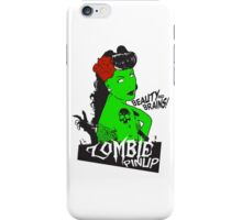 Zombie Pinup #2 iPhone Case/Skin