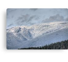 White Hills Canvas Print