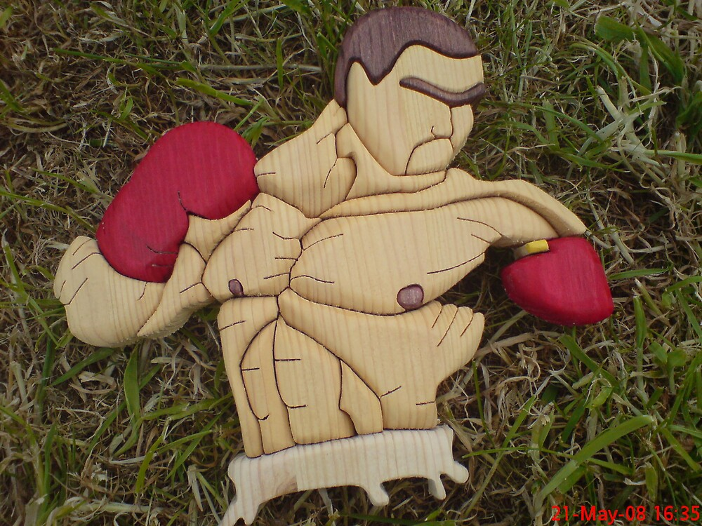 boxer woodcraft by craftsman